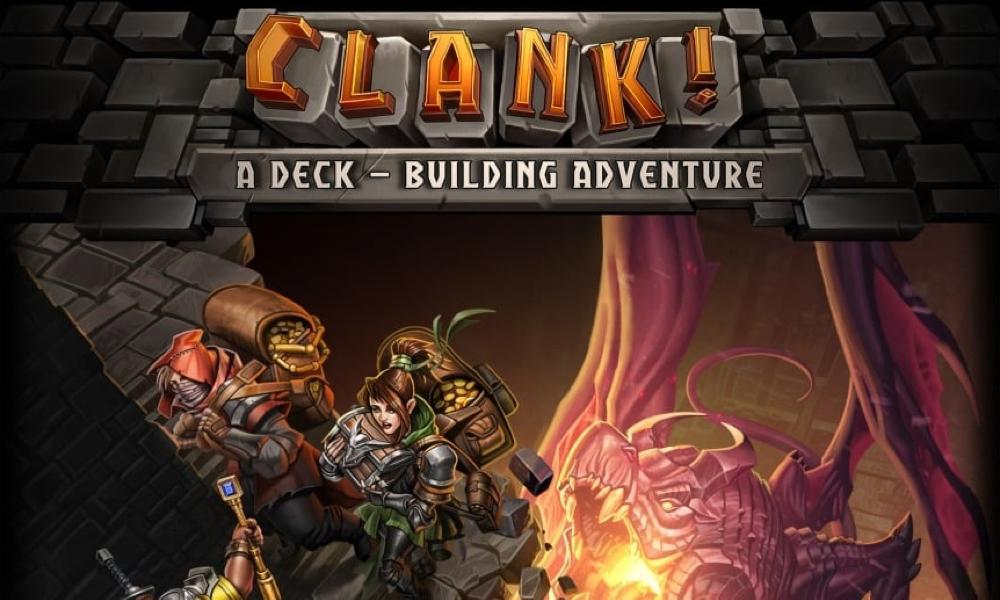 Spel - Clank! A Deck-Building Adventure