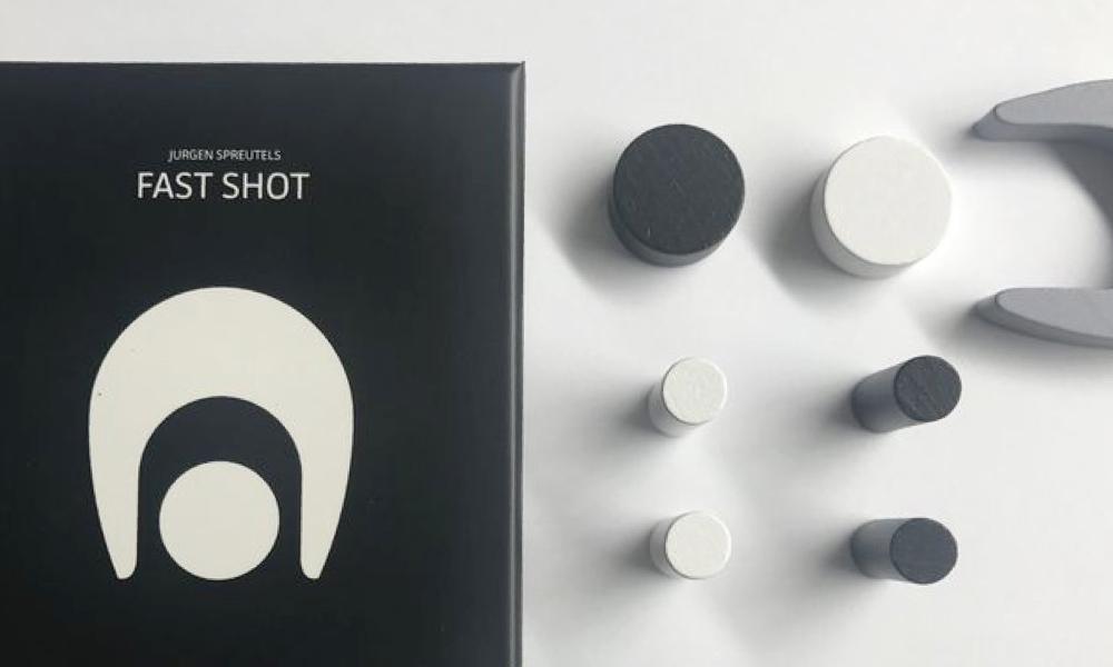 Spel - Schijfjes schieten met Fast Shot
