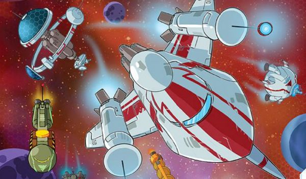 Spel - Space Base: een engine-building dobbelspel