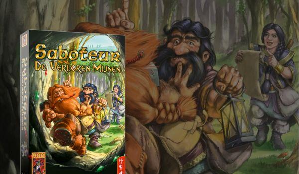 Spel - 999 Games brengt een bordspelversie van Saboteurs.